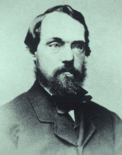 Photo of Calvert Vaux from CentralParkHistory.com